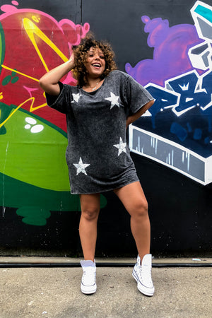 Star Power Tee Dress