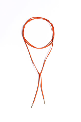 Wrap Up Bolo Necklace - Rust