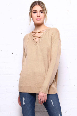 Cross The Line Knit