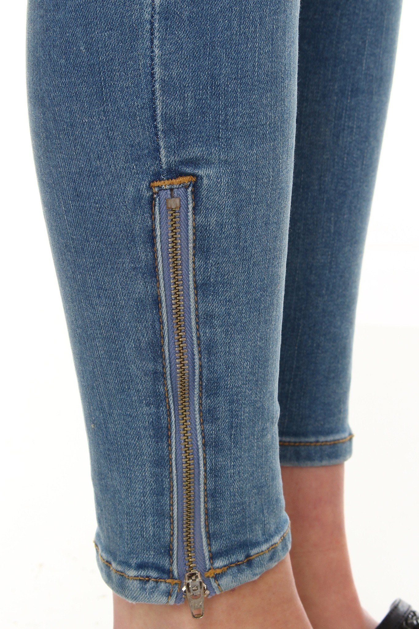 Zipped Up Skinny - Classic