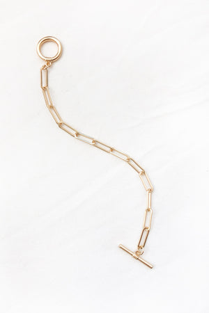 Toggle Chain Bracelet