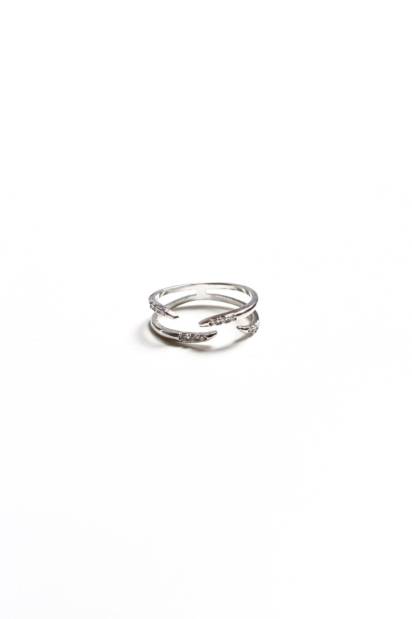 Claws Up Ring - Silver