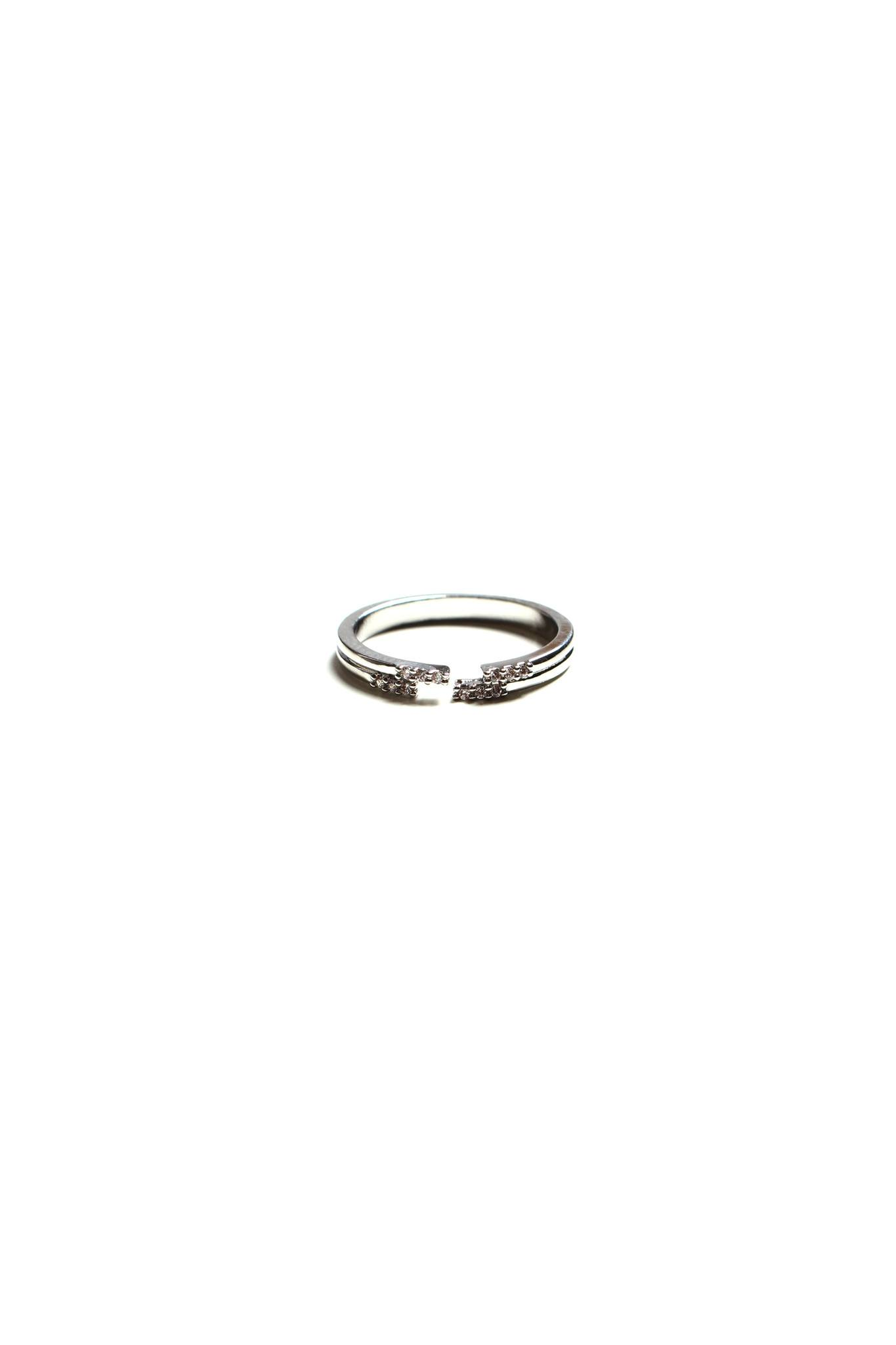 Parting Ways Ring - Silver