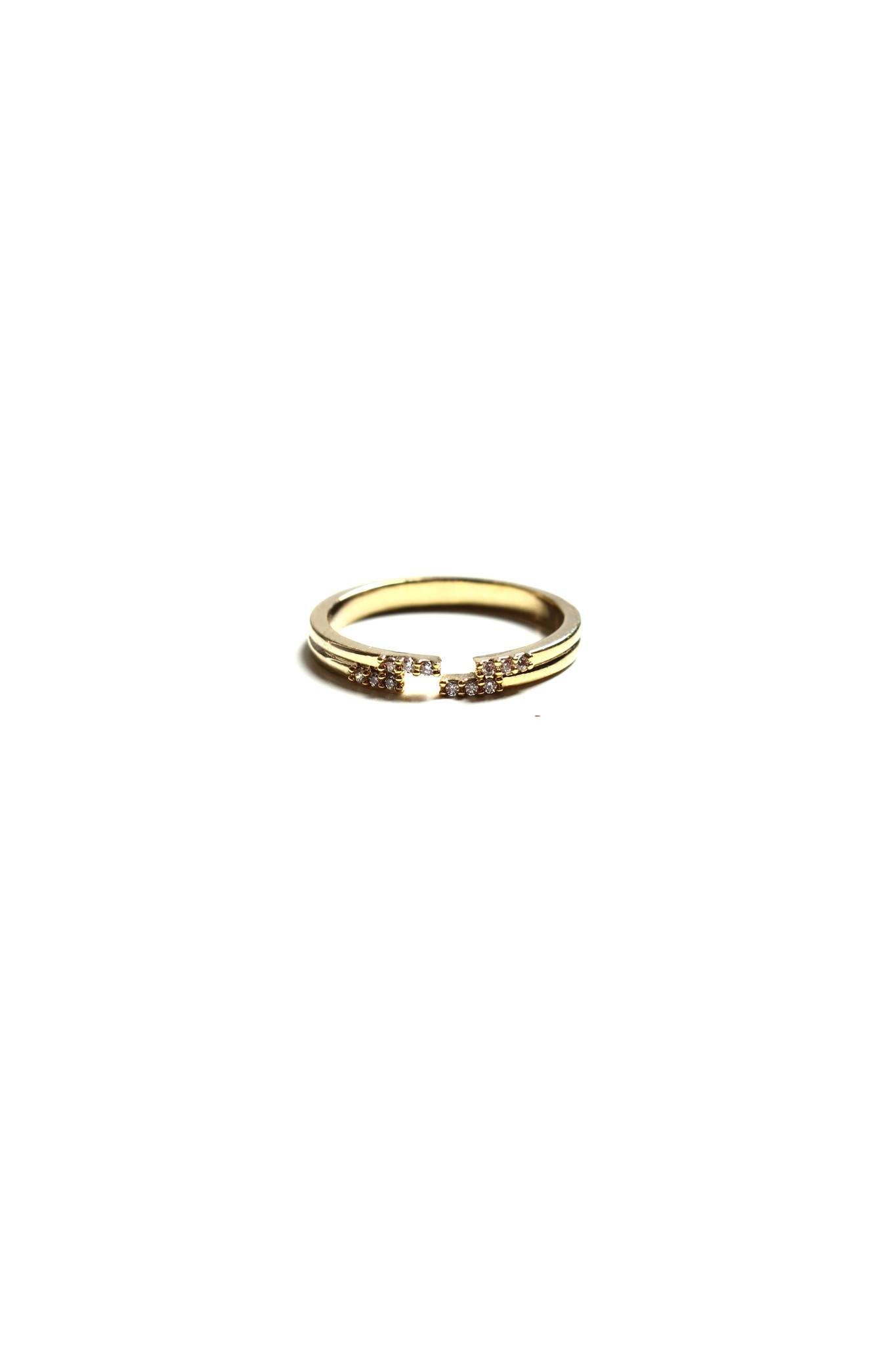 Parting Ways Ring - Gold