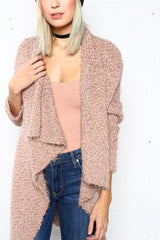 Cold Snap Cardigan - Mocha