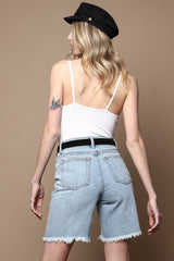 MINKPINK Chillin Girlfriend Denim Short