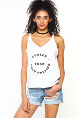 MINKPINK Cooler Than Me Tank