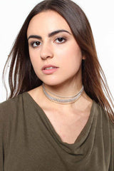 On Your Mark Layered Choker