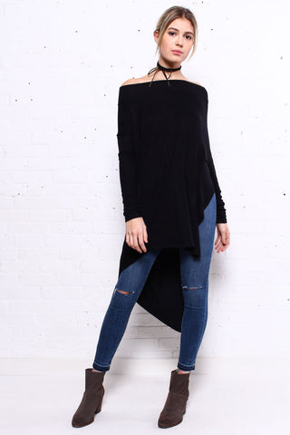 Free People Grapevine Tunic - Black