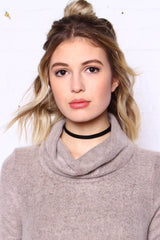 Tried-And-True Choker - Black