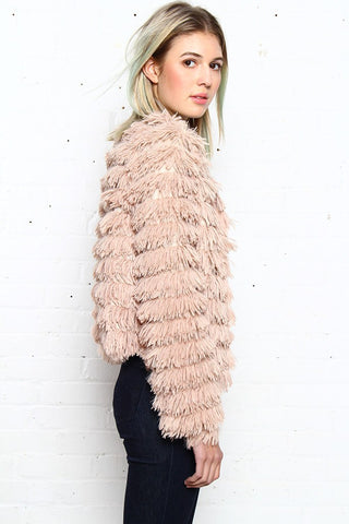 Let's Shag Fur Jacket