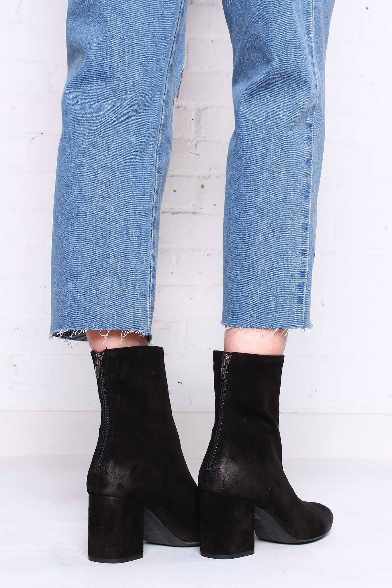 Free People Cecile Suede Bootie