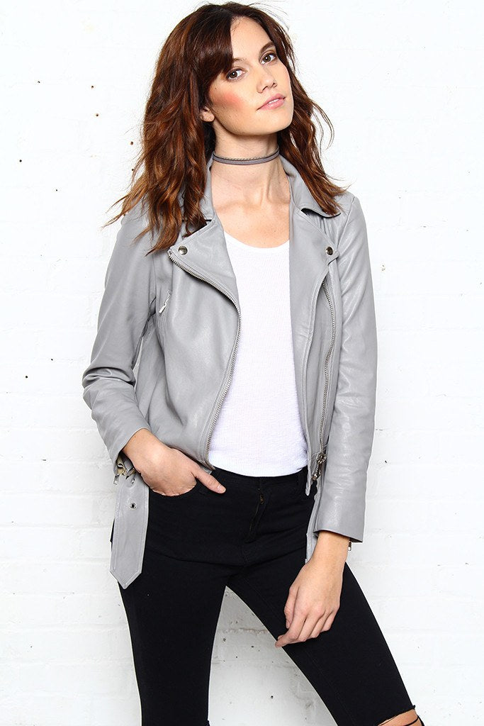 Gray Area Moto Jacket