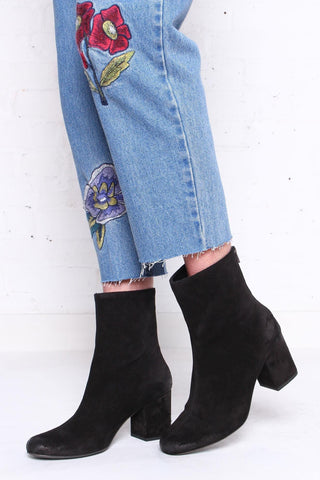 Free People Cecile Suede Booties