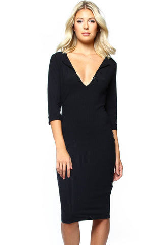MINKPINK Midnight Mischief Midi Dress