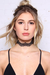 Told You So Lace Choker Set