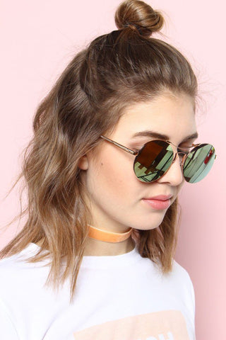 Spacey Shades - Rose Gold