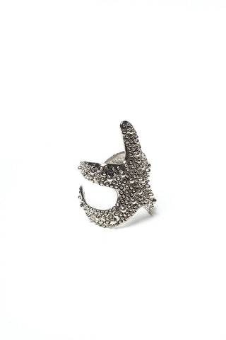Starfish Ring - Silver