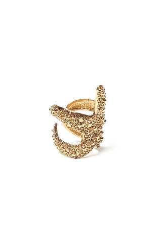 Starfish Ring - Gold