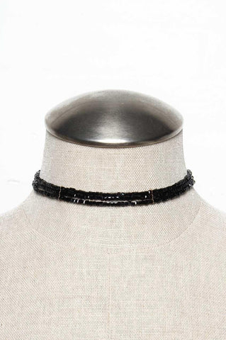 On That Bead Choker - Black