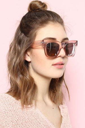 Close Up Sunnies - Pink - Calico
