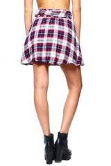 BB Dakota Fritz Plaid Skirt