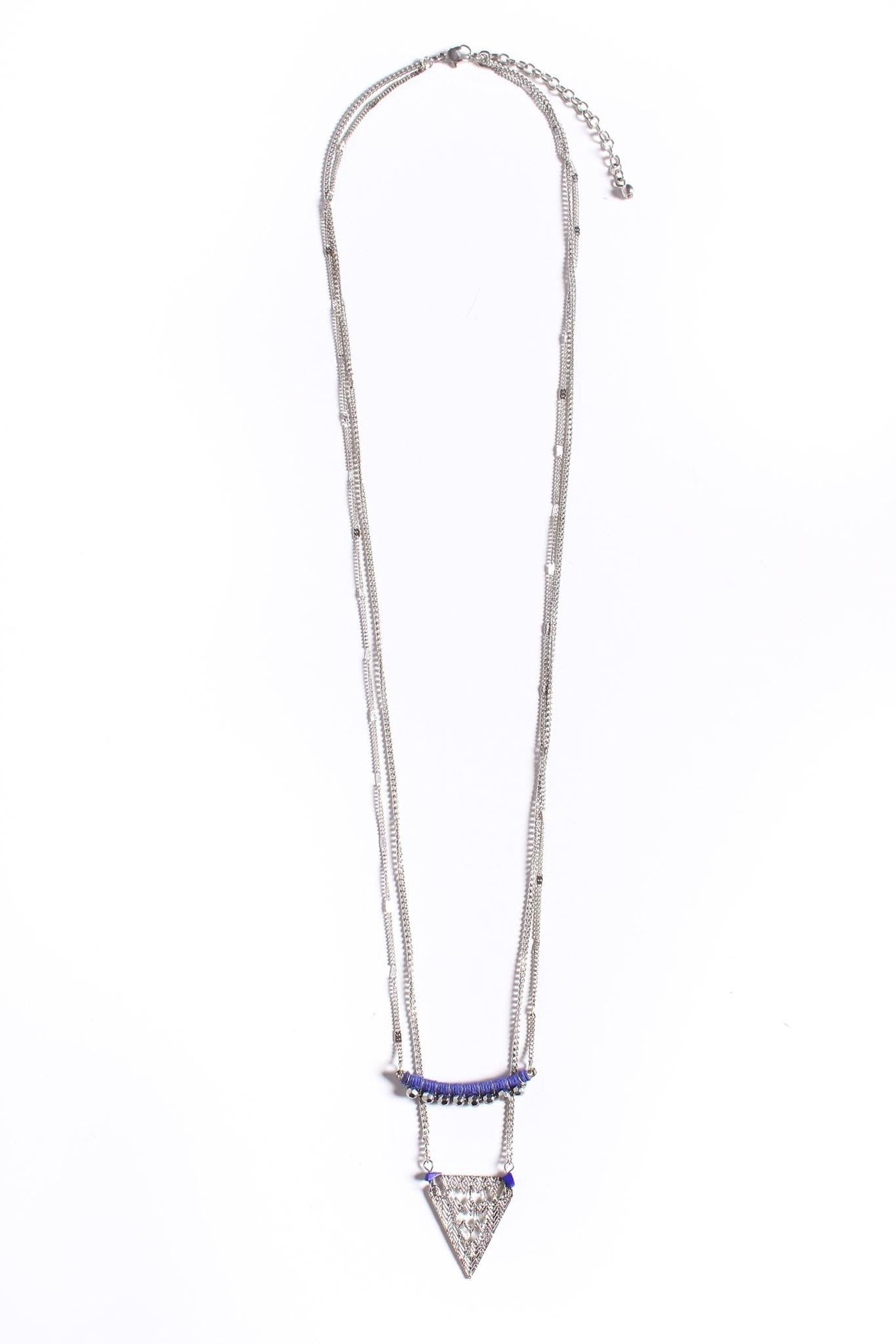 True Royalty Triangle Necklace