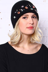 Ice Queen Beanie - Black