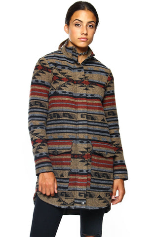 BB Dakota Heirro Jacquard Coat
