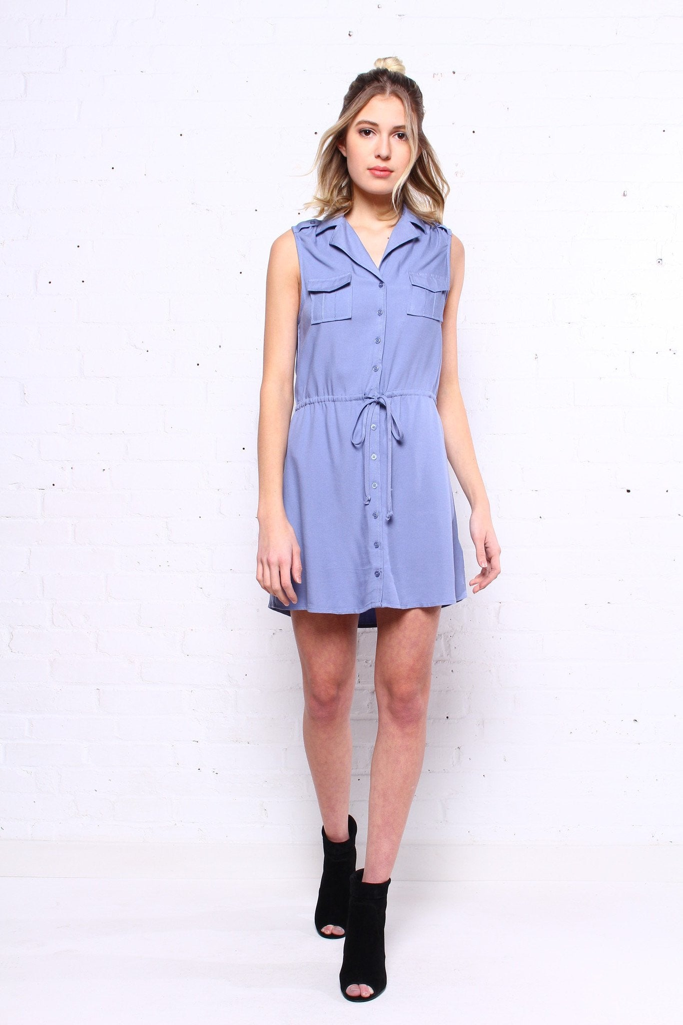 BB Dakota Santos Drawstring Dress