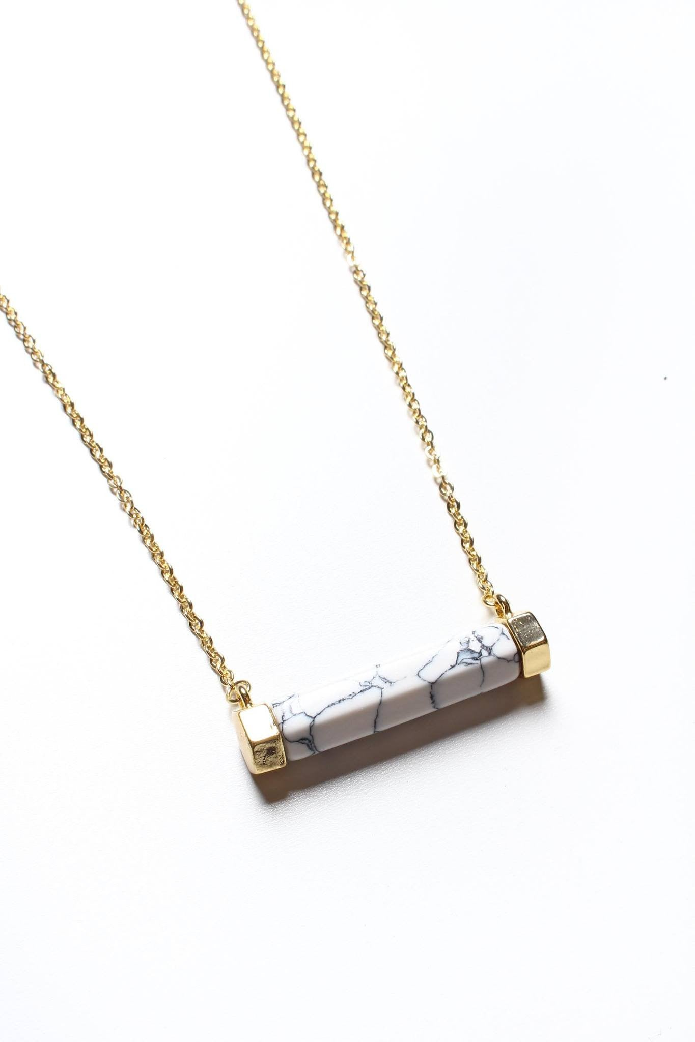 Across The Bar Necklace
