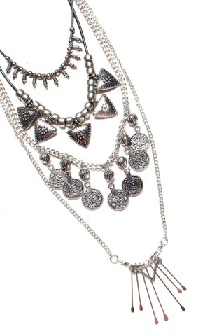 Rupee Layered Necklace