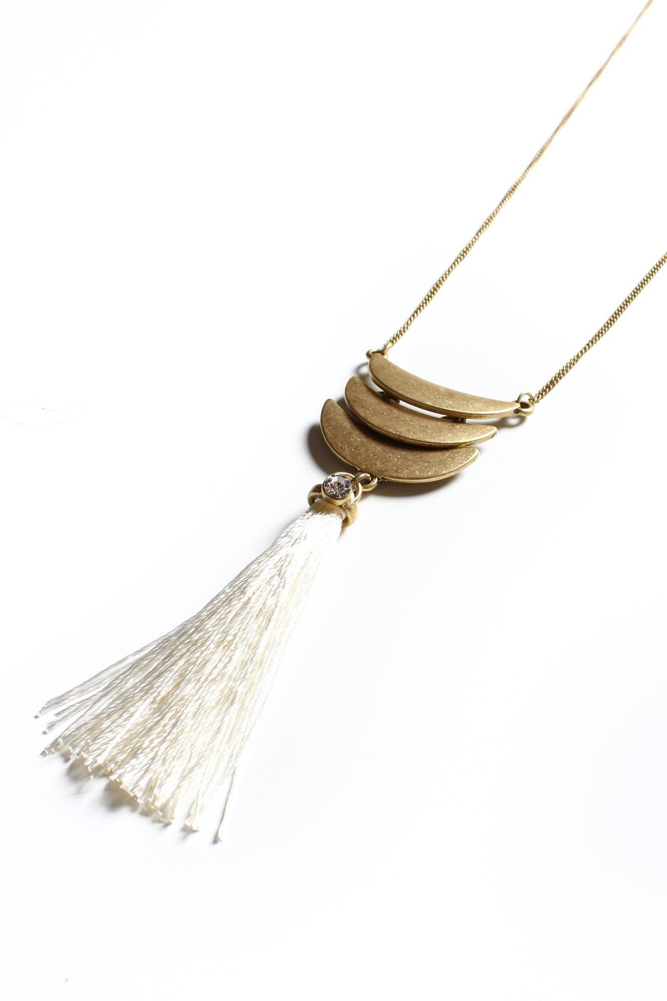 Mixed Emotions Tassel Necklace