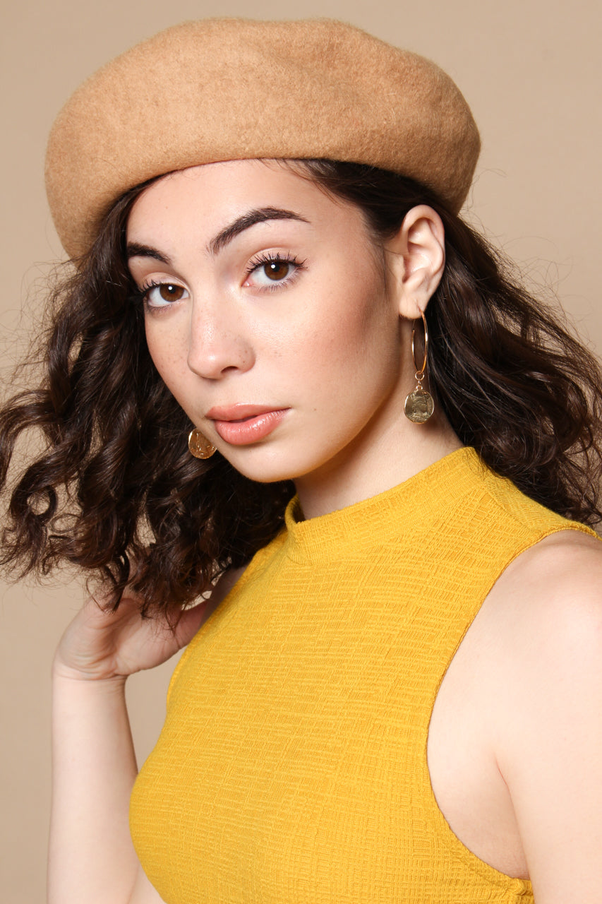 Must Have Wool Beret - Camel
