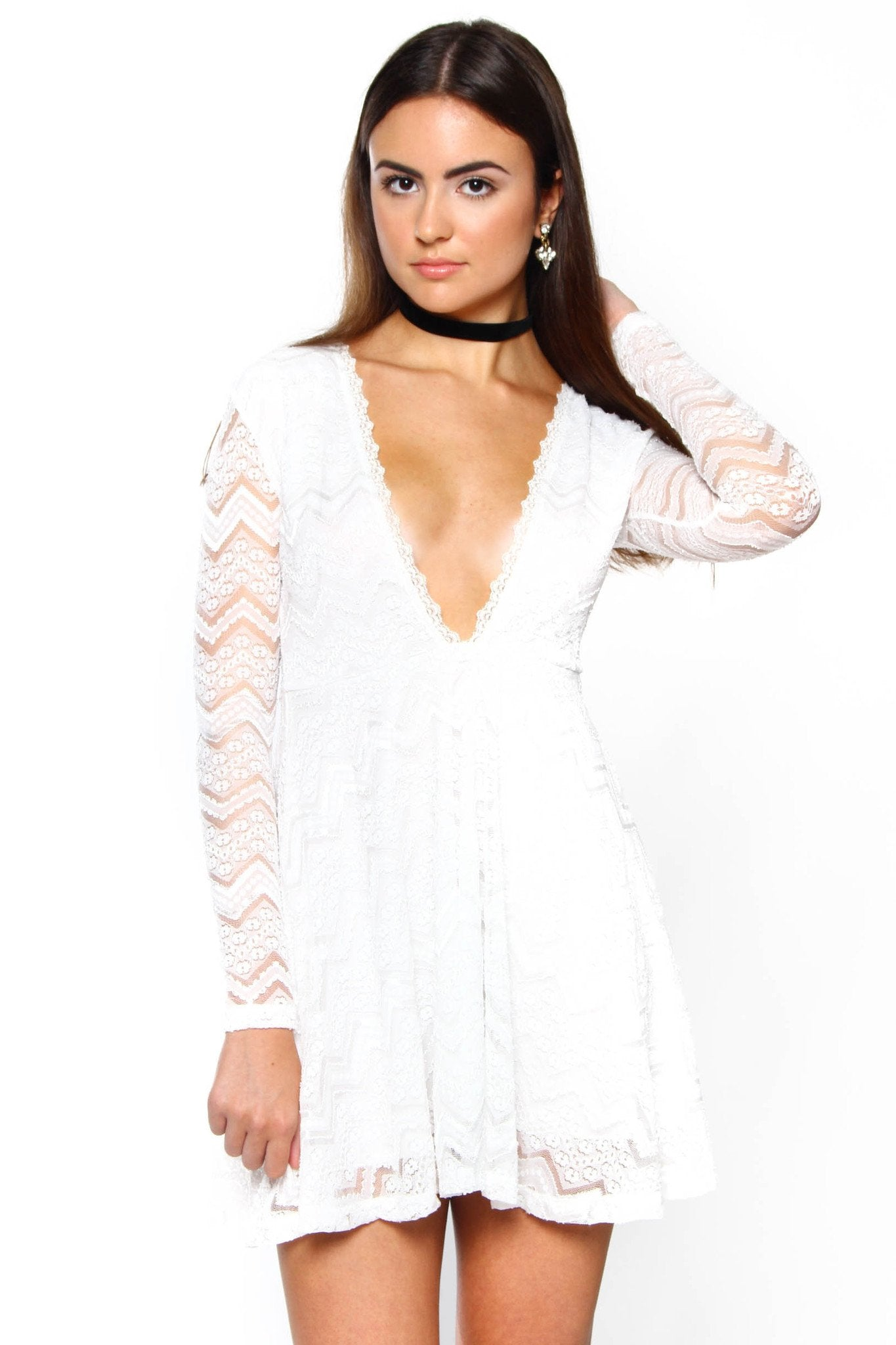 Motel Penley Babydoll Dress