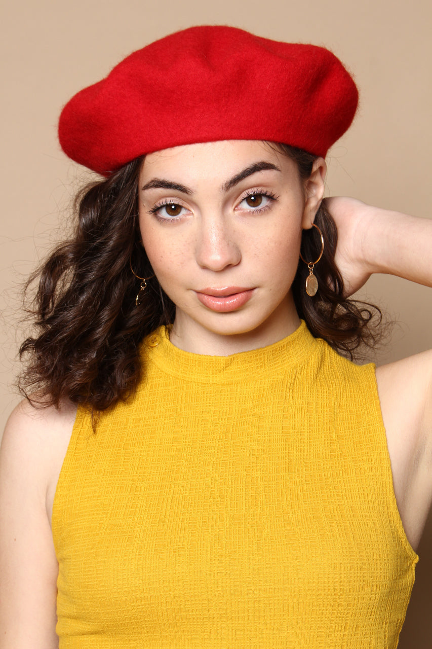 Must Have Wool Beret - Red