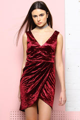 Head Over Heels Velvet Dress