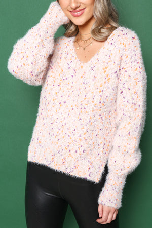 Cozy Confetti Sweater