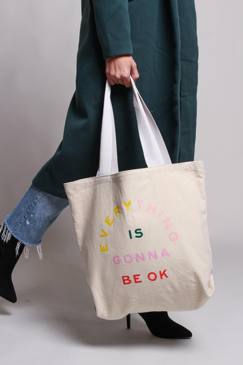 Ban.do Big Canvas Tote - Gonna Be OK