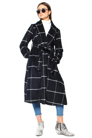 BB Dakota Braylee Wrap Coat