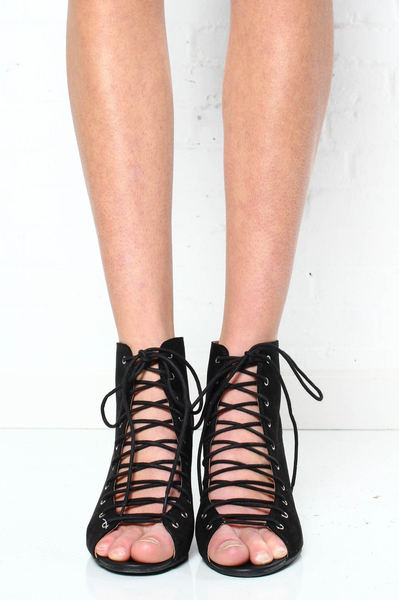 Chinese Laundry Beckie Lace-Up Heel