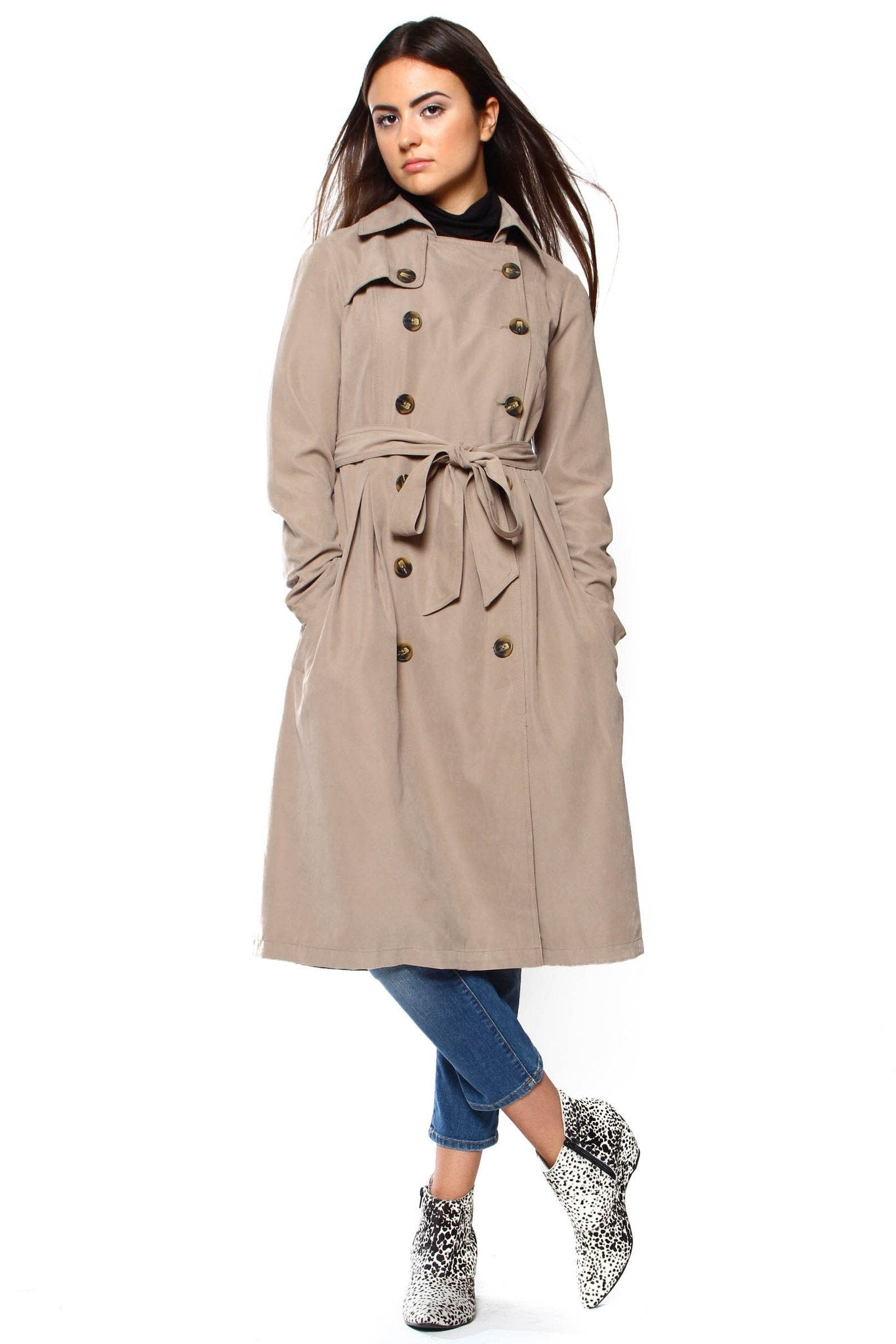 BB Dakota Wellington Trench Coat