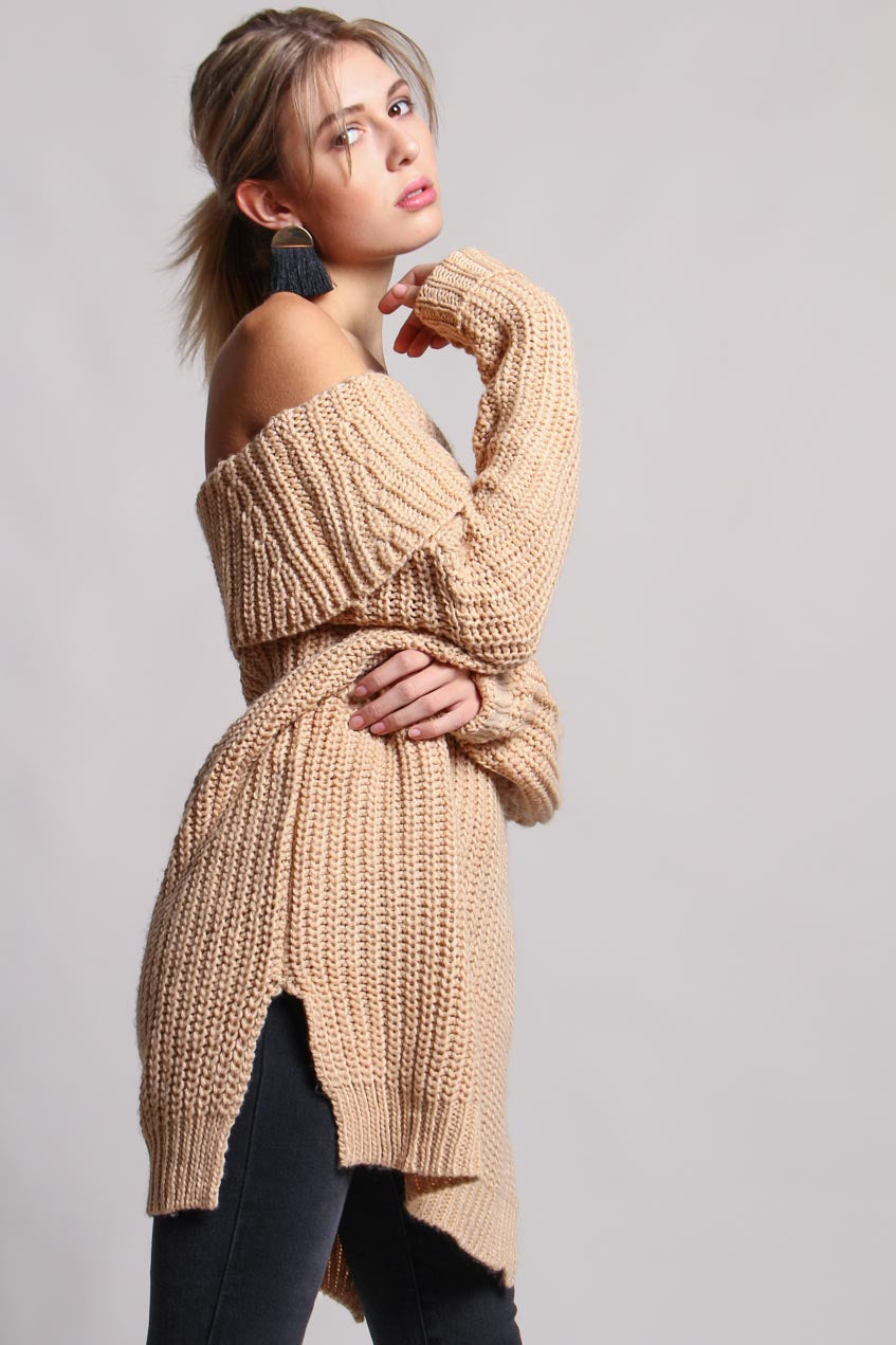 Allie Off The Shoulder Sweater