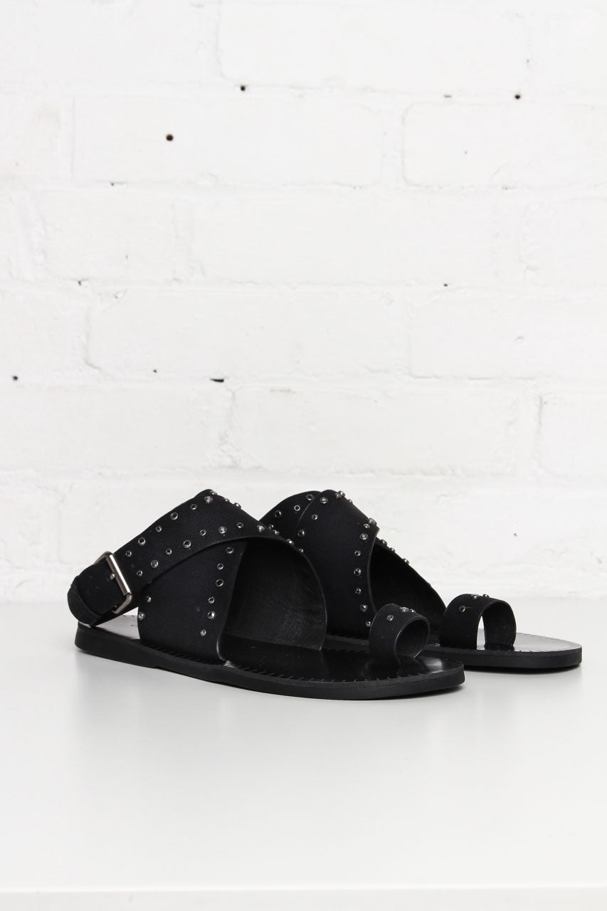 Chinese Laundry Jessa Jeweled Wrap Sandal - Black - Calico