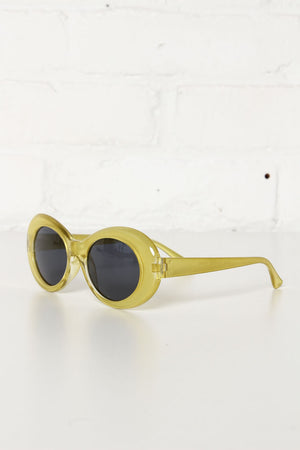 Wayland Oval Sunnies - Citrene
