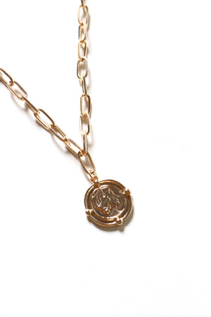 Queen Coin Chain Necklace