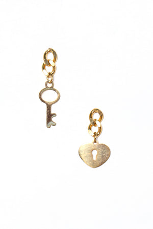 Key To My Heart Dainty Dangles