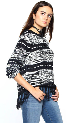 MINKPINK Smoke On The Water Sweater