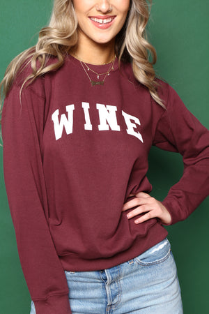 Sub_Urban Riot Wine Sweatshirt