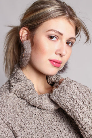 Fur Real Statement Hoops